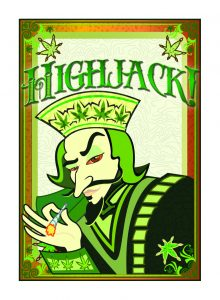 The back of all Highjack Cards