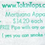 TokinTops Custom Rolling Paper