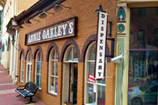 Annie Oakley's: Colorado's first recreational marijauna dispensary!