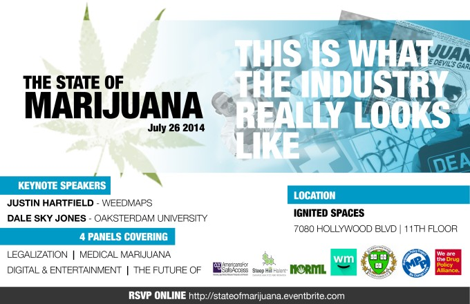 State of Marijuana Flyer