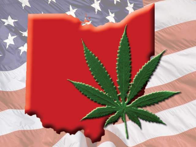 Marijuana legalization efforts in Ohio.