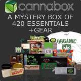Cannabox: A mystery box of 420 essentials + gear.