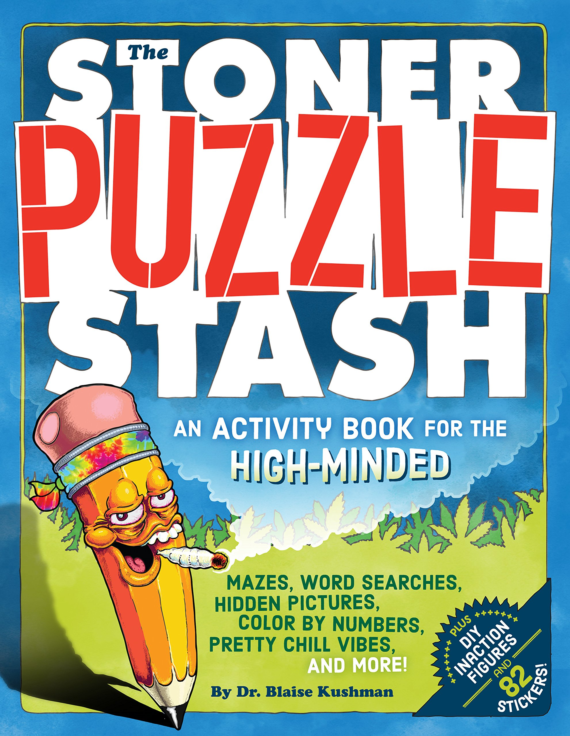 The Stoner Puzzle Stash Activity Book Smoking With Style