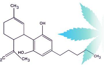 cbd oil molecule
