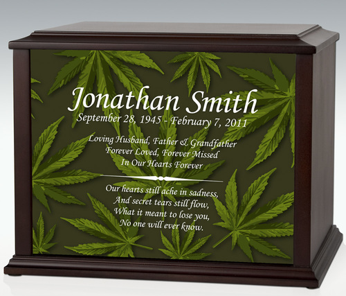 marijuana-themed memorials