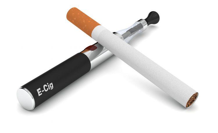 E cigarette salty taste